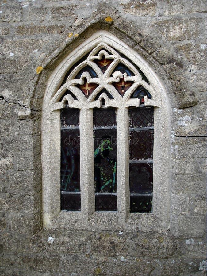 Okno Kościoła Obraz Stock