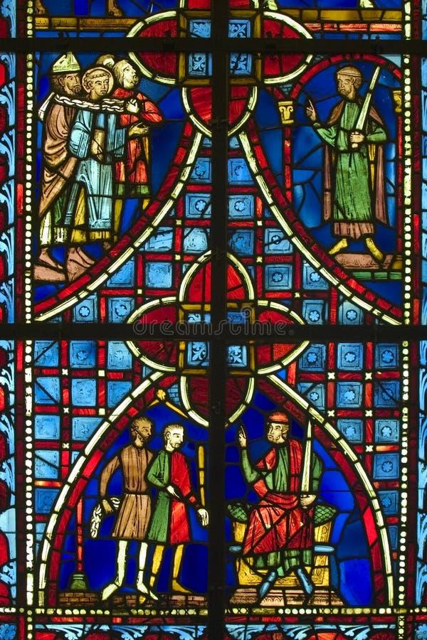 Okno Kościoła Zdjęcia Royalty Free