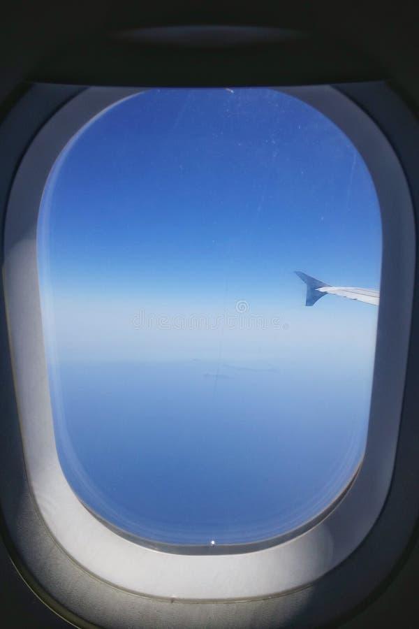 Okno na ziemi zdjęcie stock