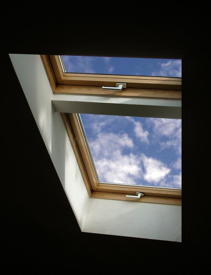 okno niebo obrazy royalty free