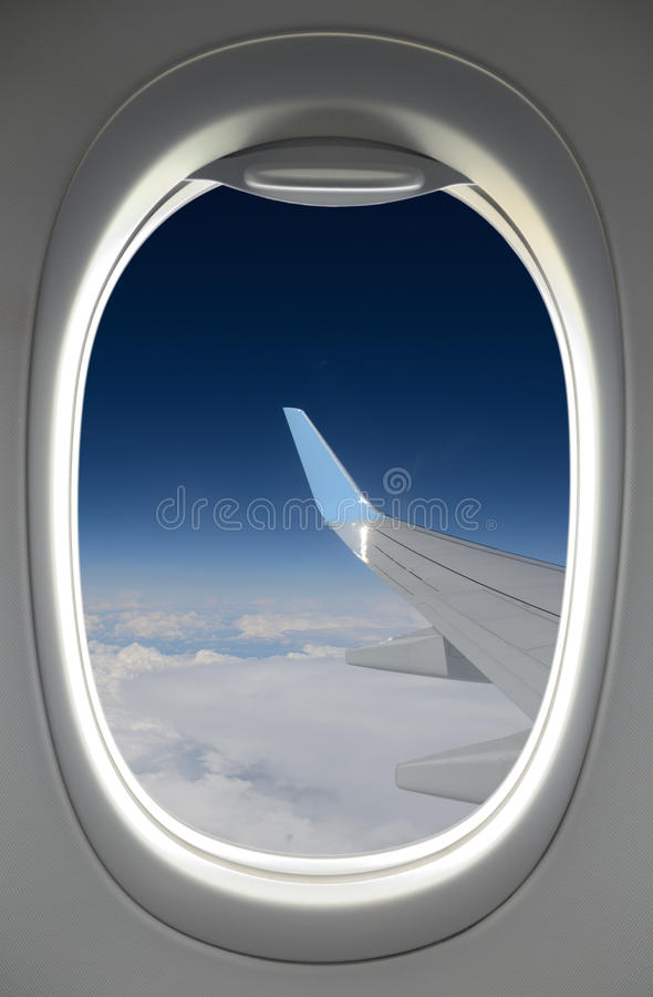 Okno niebo obraz royalty free