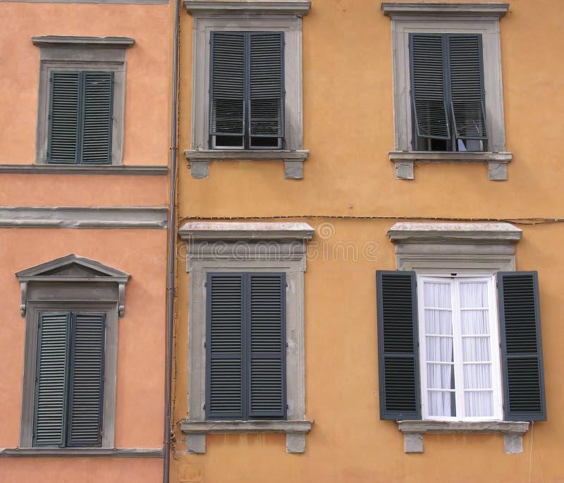 okno włoski zdjęcia stock