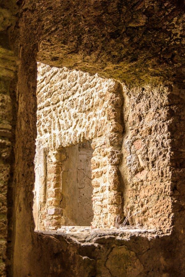 Okno w okno zdjęcie royalty free