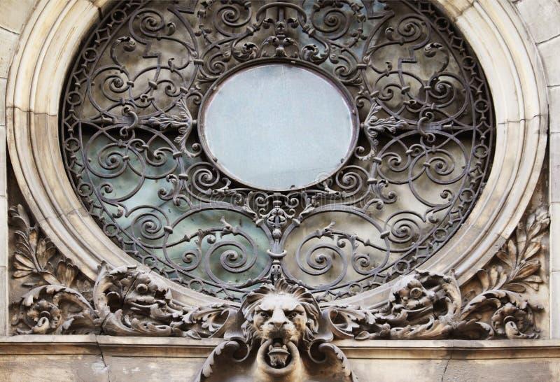 Okno w baroku stylu (xvi wiek) fotografia stock