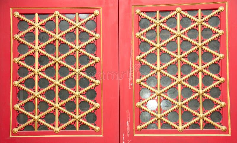 Okno w Chińskiej sztuce obrazy stock