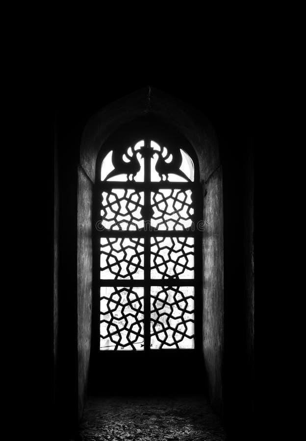 Okno w Czarny I Bia?y zdjęcia stock