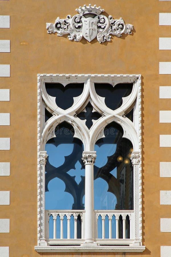 okno wenecji fotografia stock