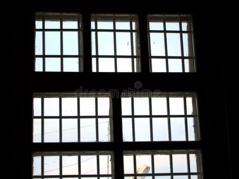 Download Okno więzienie. obraz stock. Obraz złożonej z kędziorek - 4865477