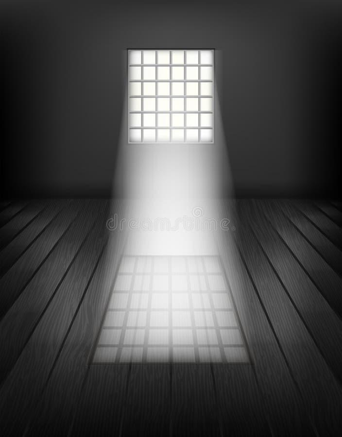 Okno z barami. ilustracji