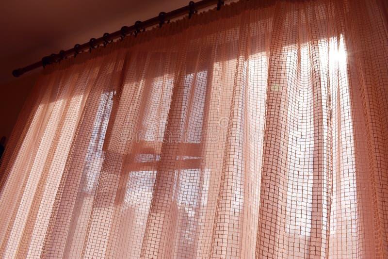 Okno z okno od wśrodku domu obrazy stock
