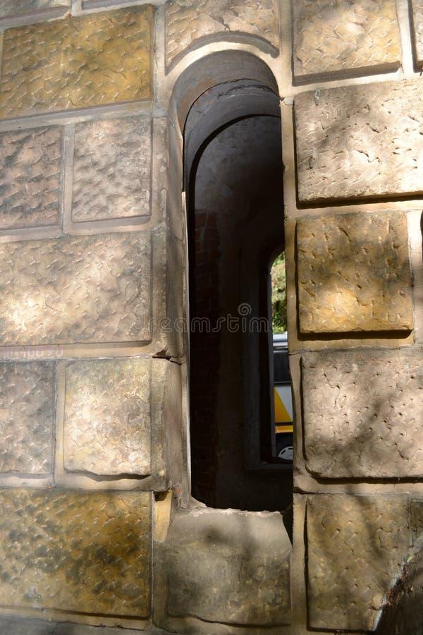Okno Za II zdjęcie stock