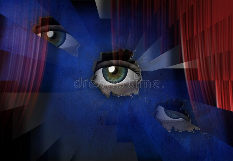 Oko ilustracja wektor