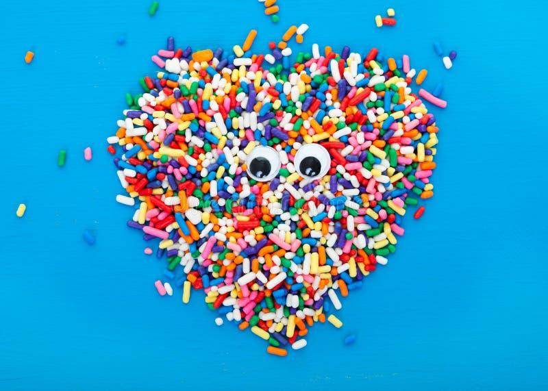 Oko cukierek obraz stock
