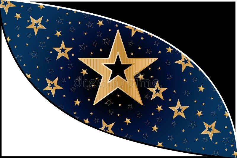 Oko gwiazda ilustracji