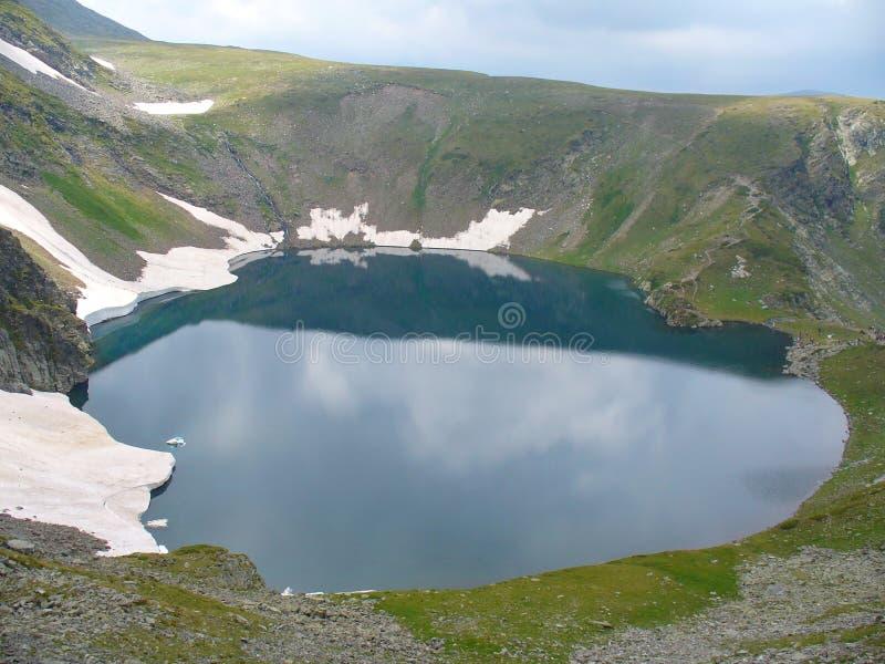 Oko jezioro w Rila obrazy stock