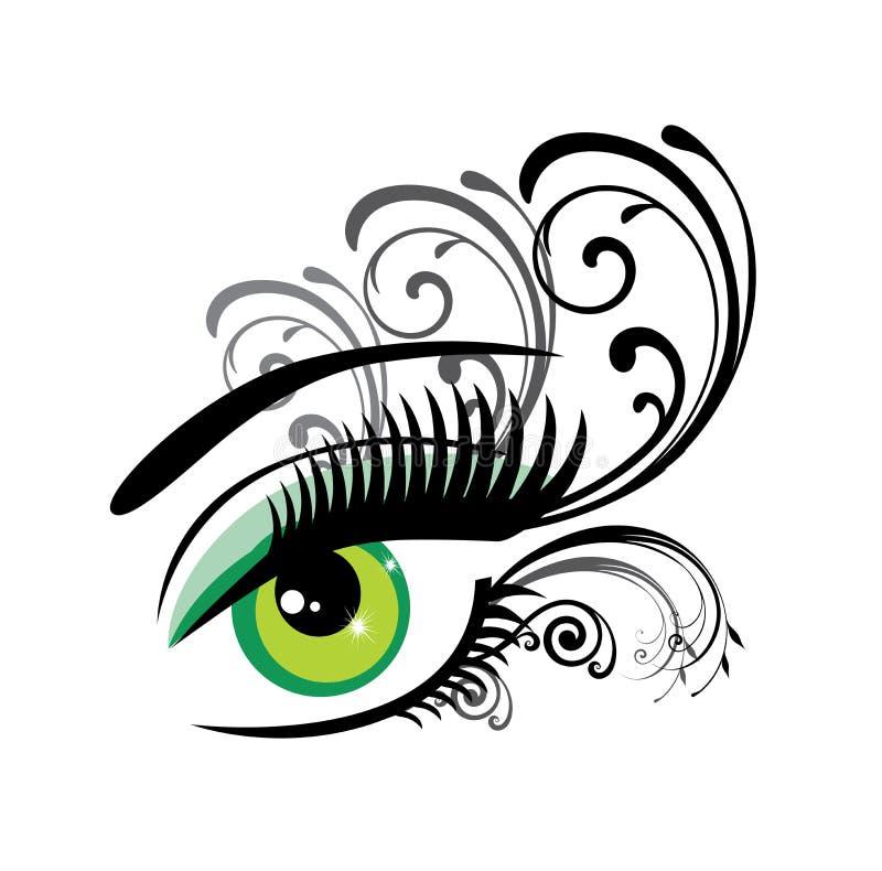 Oko kwiecisty ilustracji