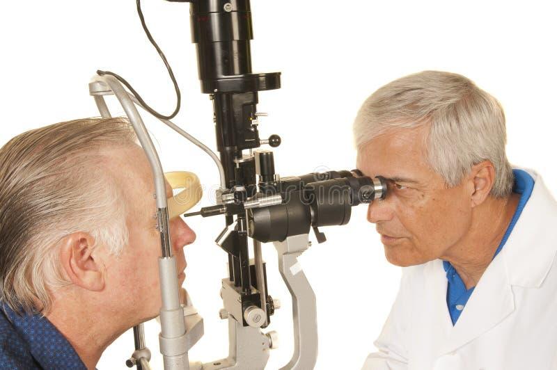 Oko lekarka fotografia stock