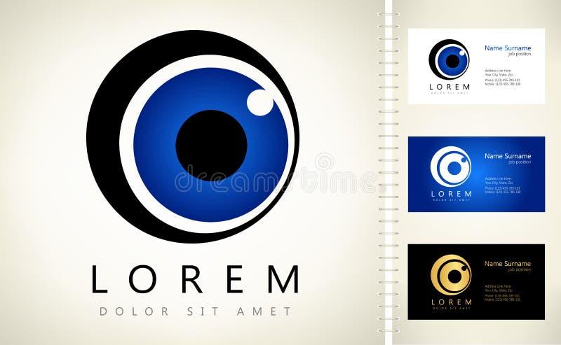 Oko logo ilustracji