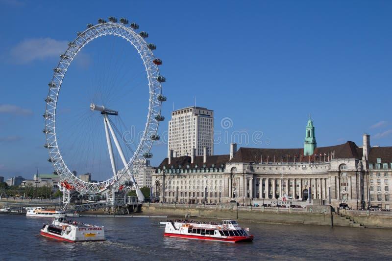 oko London obraz stock