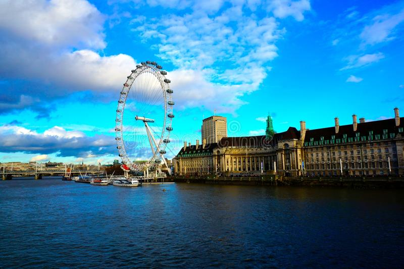 oko London fotografia royalty free