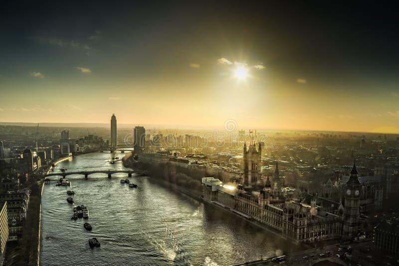 oko London obrazy stock