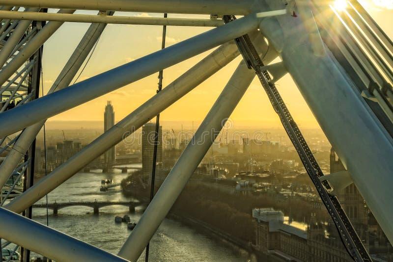 oko London zdjęcia stock