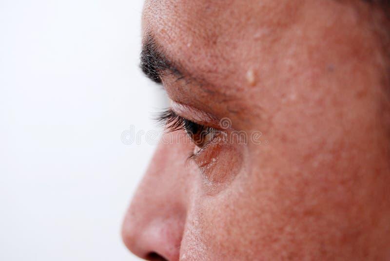 Oko mężczyzna obraz royalty free