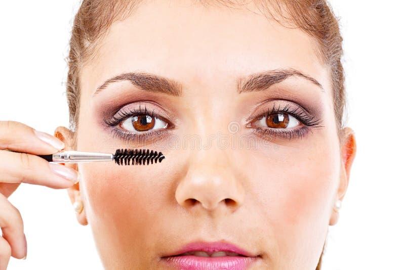Oko Makijaż zdjęcia stock