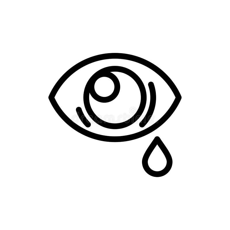 Oko, obwiśnięcie, oko, Smutny sieci Widget karty szablon, Błękitnej, Czerwonej i Teraz ściągania i zakupu ilustracji