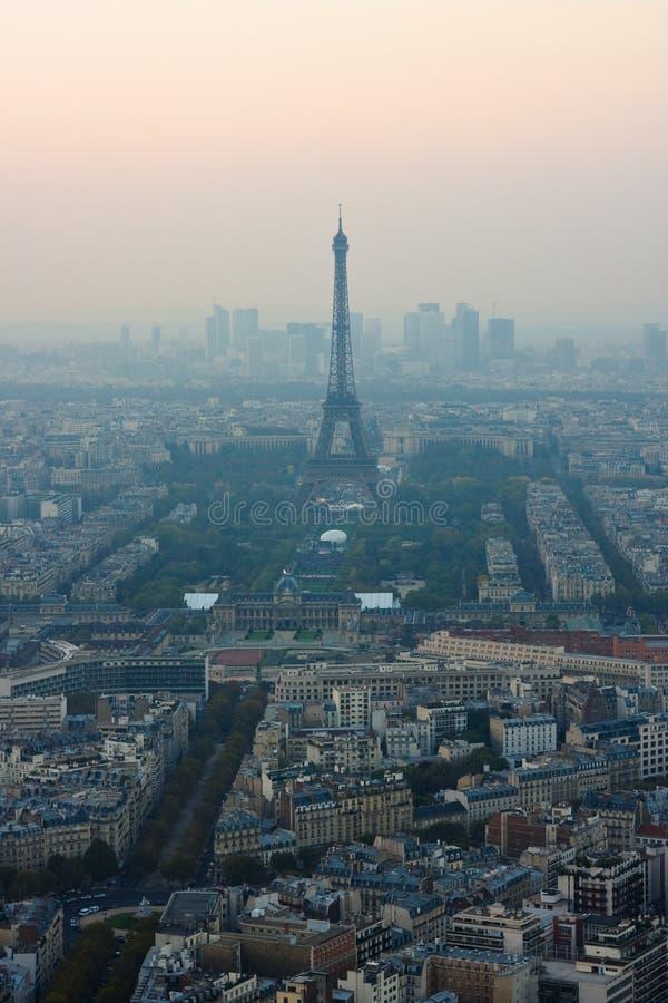 oko ptaka Paris jest widok zdjęcie stock
