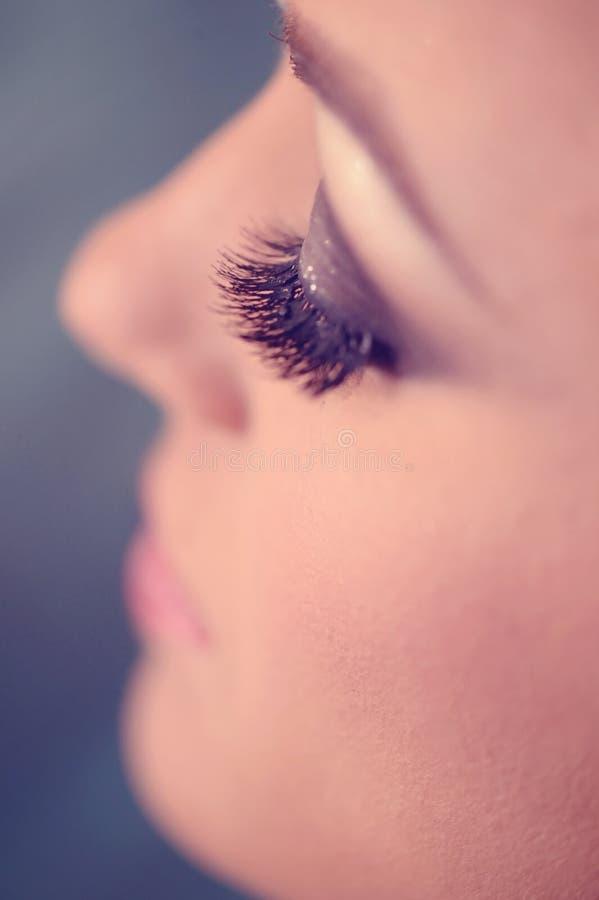 Download Oko z makeup zdjęcie stock. Obraz złożonej z makeup, kosmetyk - 57659300