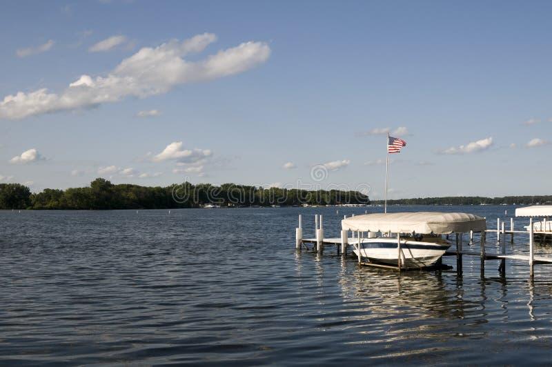okoboji jeziorny lato obrazy royalty free