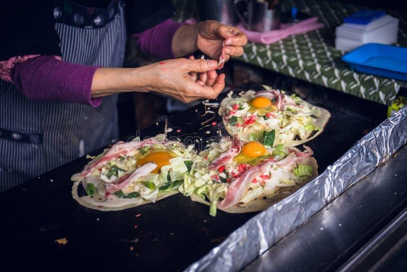Okonomiyaki стоковое фото