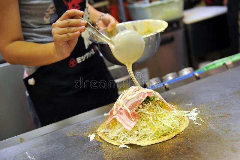 Okonomiyaki 库存图片