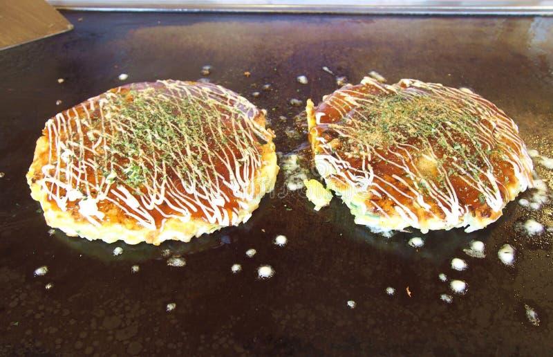 Okonomiyaki royalty free stock images