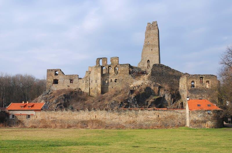 okor z zamku ruin zdjęcia stock