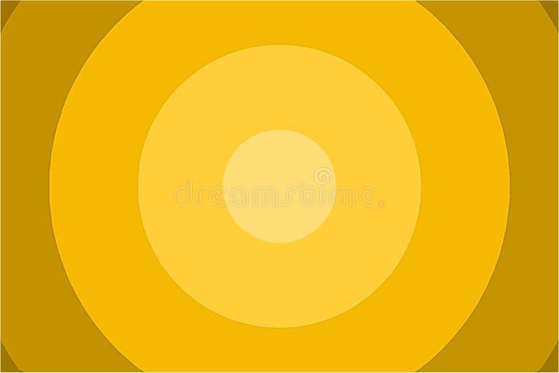 Okręgu gradientu tło obraz stock