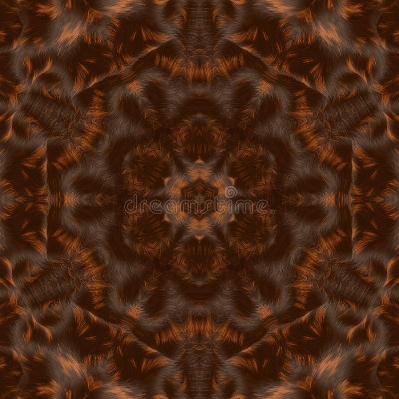 Okrąża kalejdoskopowego syntetycznego sztuki tło, powikłana geometria zdjęcia stock