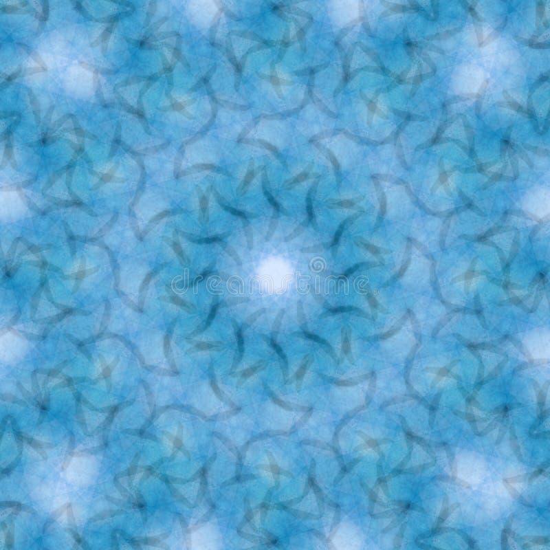 Okrąża kalejdoskopowego syntetycznego sztuki tło, powikłana geometria zdjęcia royalty free