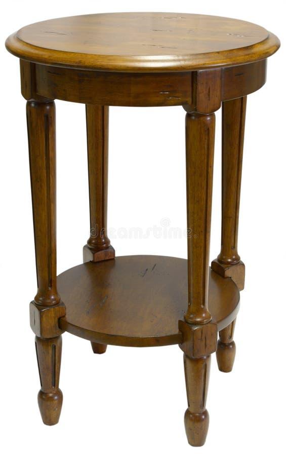 okrągły stół akcent zdjęcia stock