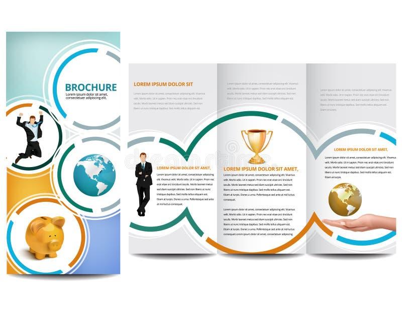 Okrąg broszurka ilustracji