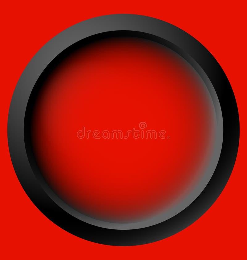 Okrąg ikona z pustą przestrzenią Pusty okręgu projekta elementu set S ilustracji