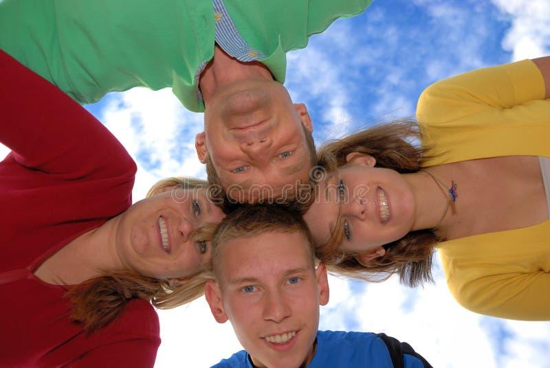 okrąg rodzina zdjęcie stock