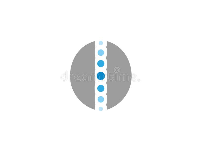 Okrąg sfery logo symbol Globalny dla logo ilustracji