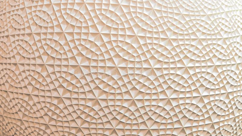 Okrąg Textured Marmurowy Geometryczny tło ilustracja wektor
