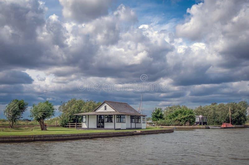 OkrÄ™g Norfolk Broads Riverside obraz royalty free
