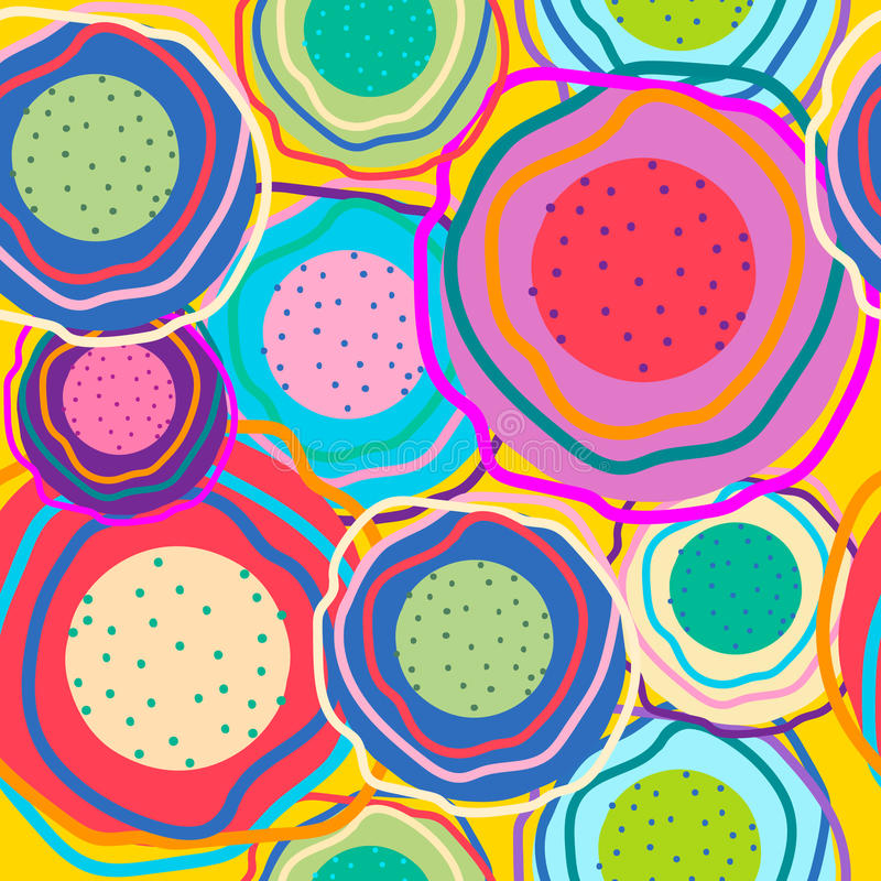 Okręgi różni kolory obraz stock
