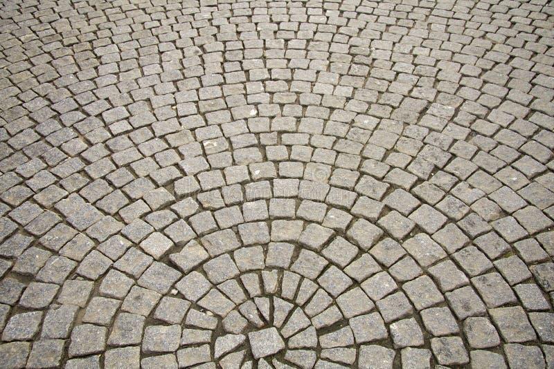 okręgu cobble kamienie zdjęcie royalty free