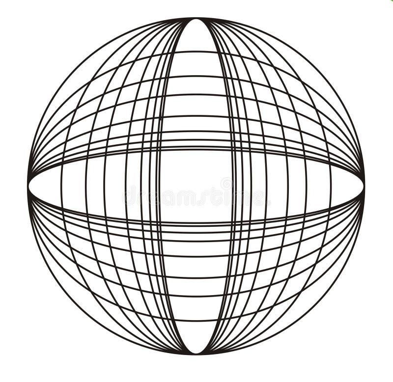 okręgu designe ilustracji