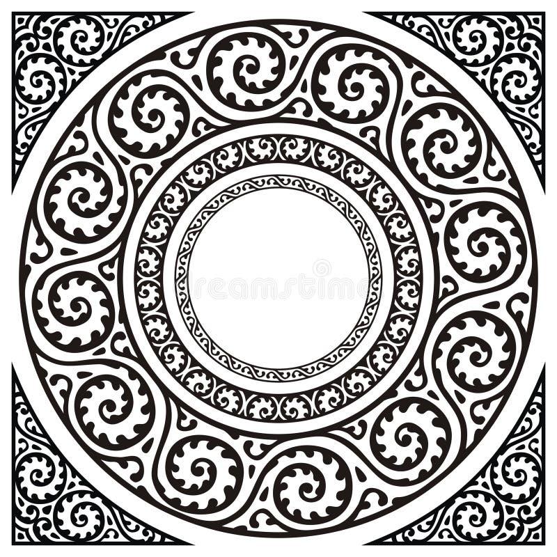 Download Okrąg ramy ilustracja wektor. Obraz złożonej z granica - 10777257